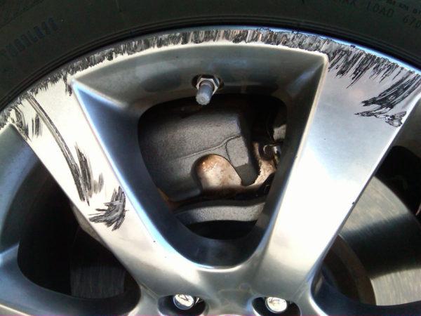 scrape-wheel